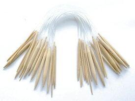LGEGE 竹丸編み針スムーズで明確なプラスチック製のチューブクラフト糸セット針キットで終わります