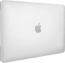 【SwitchEasy】 MacBook Pro 13 対応 ケース 半透明 フロスト クリア ハードケース 薄型 透明 カバー 傷防止 アクセサリー [ MacBookPro 13インチ 2019 2018 2017 2016 Touch Bar 搭載 非搭載 兼用 マックブックプロ 13インチ 対応 ] NUDE トランスパレント