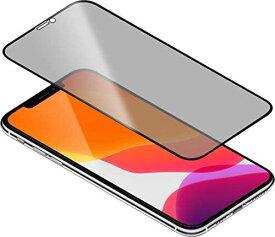 【Torrii】 iPhone 11 Pro 対応 ガラスフィルム 覗き見防止 全面 保護 指紋 防止 フィルム 日本製 AGC ガラス 使用 全面保護 3D 強化ガラス 貼付ガイド枠付 保護フィルム [ Apple iPhone11 Pro アイフォン11プロ 対応 ] BODYGLASS Privacy クリア