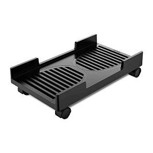 ORICO CPUスタンド キャスター付き台車 PC収納ボックス PCスタンド デスクトップ用PCワゴン PCカート 収納カート 足元収納 側板ある ほこり対策 CPB-3
