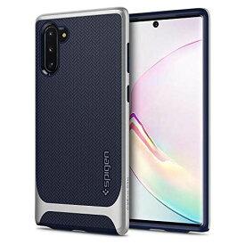 【Spigen】 Galaxy Note10 ケース 対応 バンパー 二重構造 米軍MIL規格取得 耐衝撃 カメラ保護 Qi充電 ワイヤレス充電 ネオ・ハイブリッド 628CS27384 (アークティック・シルバー) Galaxy Note 10