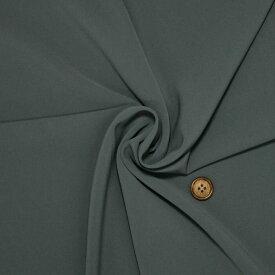 【生地・布】グレー ポリエステル 2WAY ストレッチ スーティング 国産 広幅 パンツ スカート ワンピース ガウチョ 婦人服 舞台衣装 手芸 小物 雑貨 インテリア 激安セール (h-1545)