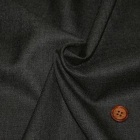 【生地・布 レディース ファッション】 グレー ウール ポリエステル 先染 スーティング 格子柄 防縮加工 国産 広幅 パンツ スカート ジャケット 婦人服 紳士服 小物 雑貨 インテリア 激安セール(h-1200)