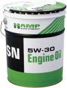 【同梱不可】ホンダ HAMPエンジンオイル SN 5W−30 20L缶