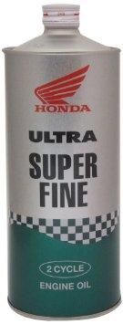 【20本まで同梱可】HONDA ホンダ純正オイル ウルトラ スーパーファイン 分離・混合用 FC 100%化学合成油 1L