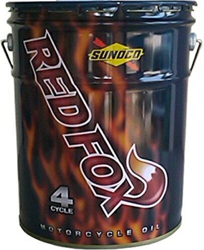 【同梱不可】SUNOCO(スノコ) REDFOX(レッドフォックス) RACING & SPORT(レーシング アンド スポーツ) 4サイクルオイル 15W-50 100%化学合成油 20L