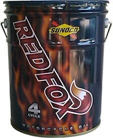 【送料込み】SUNOCO(スノコ) REDFOX(レッドフォックス) RACING & SPORT(レーシング アンド スポーツ) 4サイクルオイル 15W-50 100%化学合成油 20L