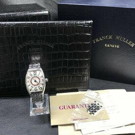 【FRANCK MULLER フランクミューラー】ヴェガス 6850 SS シルバー メンズ 腕時計【shichi269】