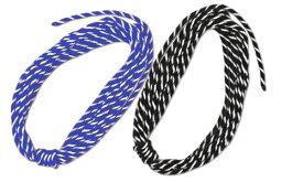青白・黒白ロープ[サイズ:8mm×約10.2m]