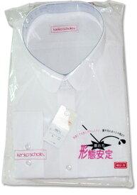 【制服】カンコー女子長袖丸衿ブラウス[B(ゆったりタイプ) サイズ:150〜170]