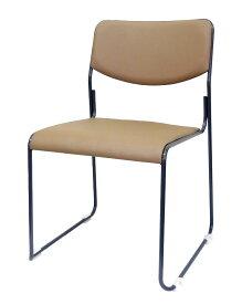 【新品】【送料無料】【代引き不可】SANKEI サンケイ会議用イスパイプ椅子5脚セットスタッキング・連結可能カラー:ライトブラウンCM272-MX