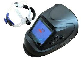 液晶 自動遮光 溶接面 高級タイプ TOAN-9900黒 (高級パネル、4センサー、特大!!視野) 新商品 1本