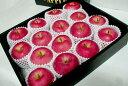 """青森産 陸奥(むつ)りんご5kg 大玉14〜16個入り化粧箱「特選品」○ご贈答おすすめ果物です美しくていい香りを持った""""キング・オブ・アップル""""!ギフト りんご..."""