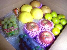 秋の フルーツセット 約4kg|詰め合わせ 福袋 フルーツ ギフト プレゼント 贈り物 果物セット