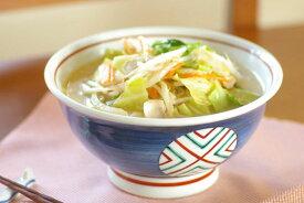 【砥部焼 梅山窯】丸ぬきの丼鉢(6寸)