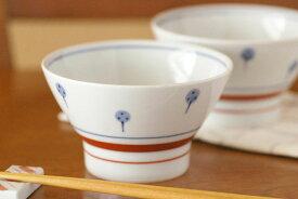 【砥部焼 梅山窯】たんぽぽの茶碗(大)