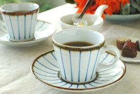 【砥部焼 千山窯】鉄巻とくさのコーヒーカップ