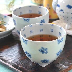 【砥部焼 スギウラ工房】花柄のフリーカップ