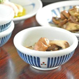 【砥部焼 梅山窯】とくさみつ紋の玉ぶち鉢(3寸)