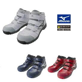 d2b4737aed159  送料無料  ミズノ MIZUNO 安全靴 作業靴C1GA1802ミズノ・オール