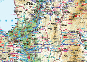 B0判北海道全図ポスター