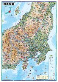 B0判関東全図ポスター
