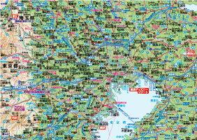 関東全図パネル(B1判)