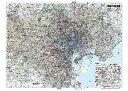東京23区全図(地図)ポスター(B1判)【2017年最新版!】表面ビニールコーティング加工※水性ペンが使えます