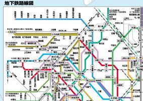 A0判東京23区全図ポスター