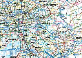 ホワイトボードラミネート愛知県全図ポスター(B0判)