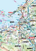A0判福岡県全図ポスター