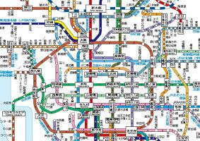 大きい近畿圏交通マップ※2016年最新版!