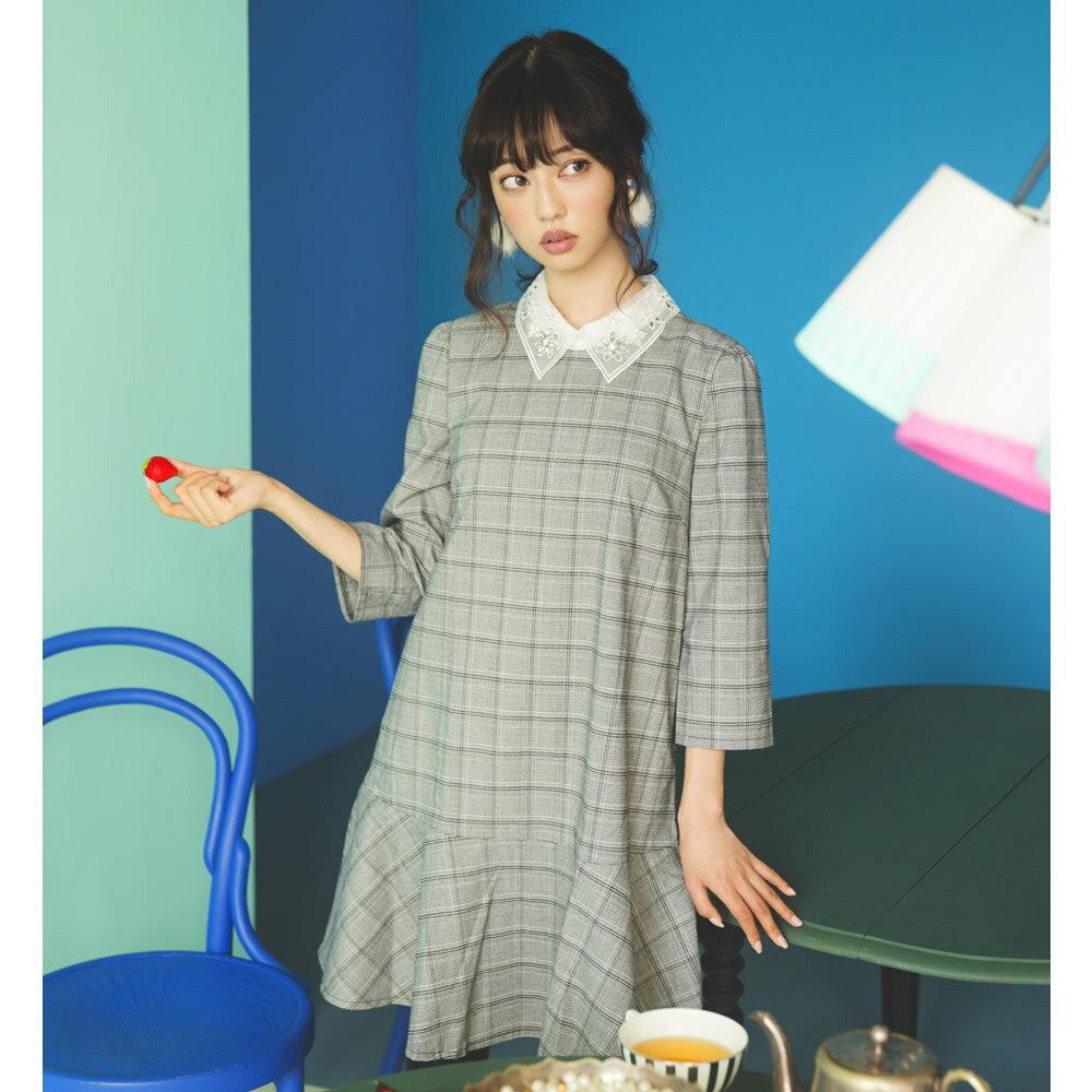 11月22日(水)再販決定★【cyunie キュニー】Like A Dollカタログtocco closet(トッコクローゼット) Collection中村里砂さんはグレー着用