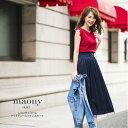 【maony マオニー】tocco closet(トッコクローゼット) Collection 舞川あいくさんはネイビー着用