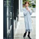【norea ノレア】tocco closet(トッコクローゼット) Collection田中みな実さんはグレイッシュミント着用※ピンクブラ…
