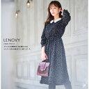 【lenovy レノヴィー】tocco closet(トッコクローゼット) Collection宇垣美里さんはブラック着用≪Check&Tweed≫toc…