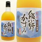 紀州にごり梅酒・熊野かすみ720ml(紀州南高梅使用)化粧箱入