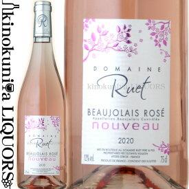 ドメーヌ リュエ / ボージョレー ロゼ ヌーヴォー [2020] ロゼワイン 辛口 750ml / フランス ブルゴーニュ AOCボジョレー ボジョレー ヌーボー 新酒 2020年11月19日解禁 Domaine Ruet Beaujolais Rose Nouveau