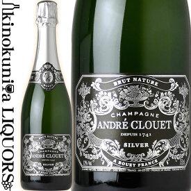アンドレ クルエ / シルバー ブリュット ナチュール [NV] スパークリングワイン 白 辛口 750ml / フランス シャンパーニュ A.O.C. CHAMPAGNE Grand Cru グランクリュ ANDRE CLOUET SILVER BRUT NATURE ワイン アドヴォケイト 91点