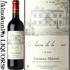 ブラゾン ド ラ グラーヴ [1996] 赤ワイン ミディアムボディ 750ml / フランス ボルドー AOCリストラック メドック Blason de la Grave