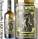 エル ジー アイ / ビッグ ホワイト ビースト [2018] 白ワイン やや辛口 750ml / フランス ラングドック ルーション IGP ペイドック LGI BIG WHITE BEAST サク