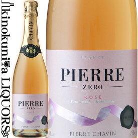 ピエール ゼロ ロゼ スパークリング [NV] ノンアルコールワイン ロゼ 辛口 750ml / フランス SARL Domaines Pierre Chavin Pierre Zero Rose Sparkling アルコール度数 0% スパークリング ワインテイスト飲料 / ノンアルコールワイン ハラール認証 ヴィーガン