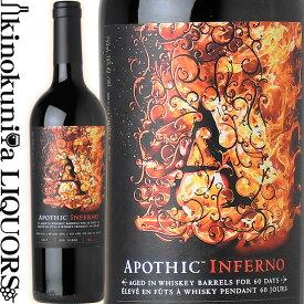 アポシック インフェルノ [2017] 赤ワイン フルボディ 750ml / アメリカ カリフォルニア E&Jガロワイナリー E.&J. Gallo Winery Apothic Inferno