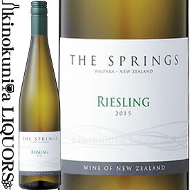 ザ スプリングス リースリング [2018] 白ワイン やや甘口 750ml / ニュージーランド サウス アイランド ワイパラG.I. サザン バンダリー ワインズ Southern Boundary Wines The Springs Riesling