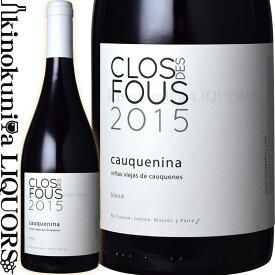 クロ デ フ / カウケニーナ [2015] 赤ワイン ミディアムボディ 750ml / チリ セントラルヴァレー マウレヴァレー マウレヴァレーD.O. / クロ・デ・フ Clos des Fous Cauquenina ジェームスサックリング 93点 ワインアドヴォケイト 92点
