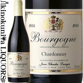 ジャン シャルル ルクイエ / ブルゴーニュ ブラン シャルドネ [2001] 白ワイン 辛口 750ml / フランス ブルゴーニュ AOCブルゴーニュ / Jean Charles Lecuyer Bourgogne Chardonnay