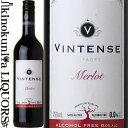ヴィンテンス メルロー [NV] ノンアルコールワイン 赤 やや辛口 750ml / ベルギー ネオブュル社 Neobulles Vintense M…