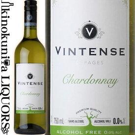 【再入荷】ヴィンテンス シャルドネ [NV] ノンアルコールワイン 白 やや辛口 750ml / ベルギー ネオブュル社 Neobulles Vintense Chardonnay ノンアルコール