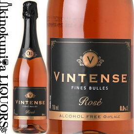 ヴィンテンス スパークリング ロゼ [NV] ノンアルコールスパークリング ロゼ 750ml / ベルギー ネオブル NEOBULLES VINTENSE SPARKLING ROSE ノンアルコールワイン