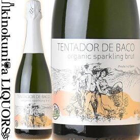 テンタドール デ バコ オーガニック ブリュット [NV] スパークリング白ワイン 辛口 750ml / スペイン カスティーリャ ラ マンチャ DCOOP.S.C.A. TENTADOR DE BACO organic sparkling brut